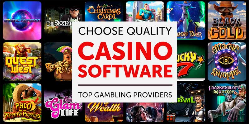 List of casino games with banner